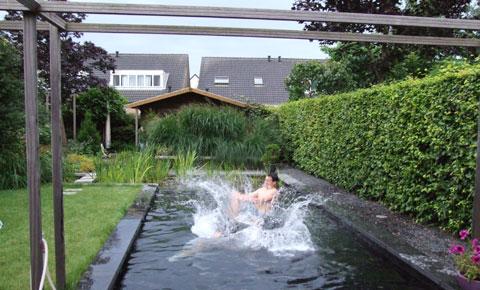 Het tuinkantoor els tuinte » tuin in beeld » watertuin